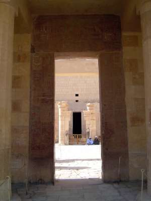 Egypt: Temple of Queen Hatshepsut picture 6