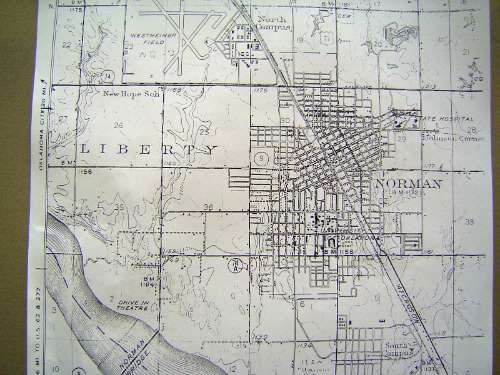 Oklahoma: Norman in maps picture 5