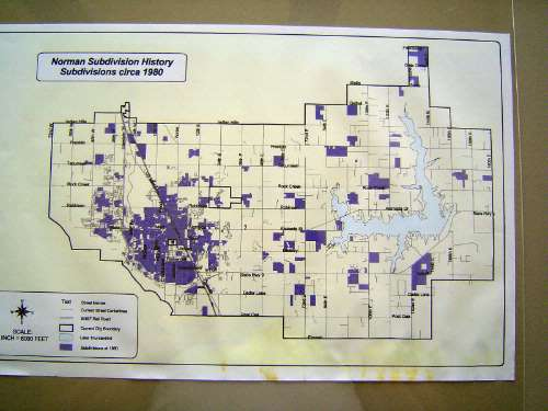 Oklahoma: Norman in maps picture 12
