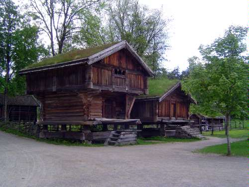 Norway: Oslo:  the Norwegian Folk Museum picture 4