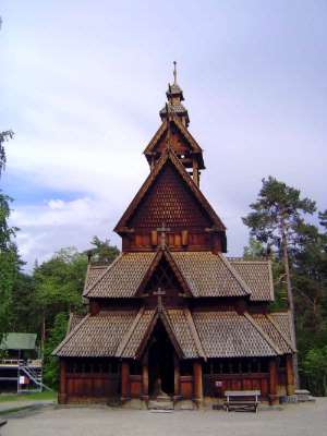 Norway: Oslo:  the Norwegian Folk Museum picture 14
