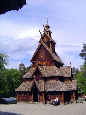 Norway: Oslo:  the Norwegian Folk Museum picture 13