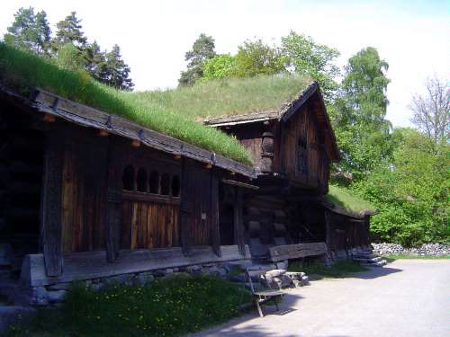 Norway: Oslo:  the Norwegian Folk Museum picture 10
