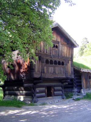 Norway: Oslo:  the Norwegian Folk Museum picture 11