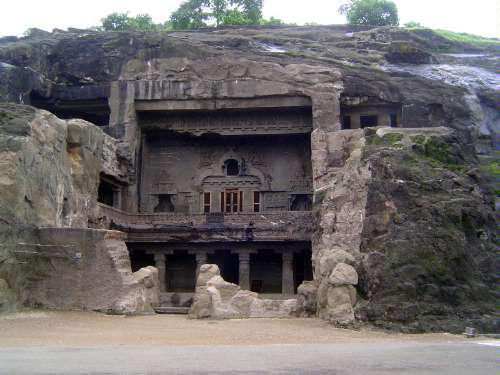 Peninsular India: Ellora (Buddhist) picture 10