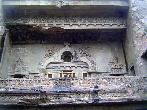 Peninsular India: Ellora (Buddhist) picture 11