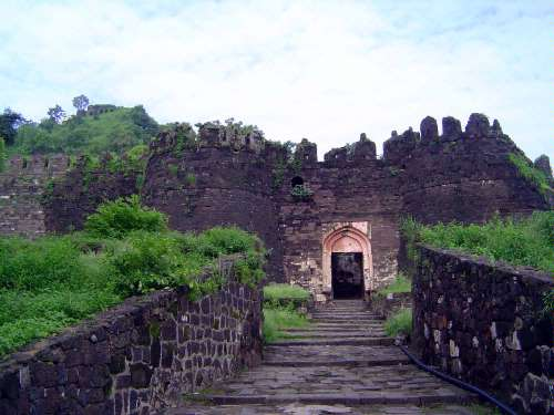 Peninsular India: Deogiri Fort picture 13