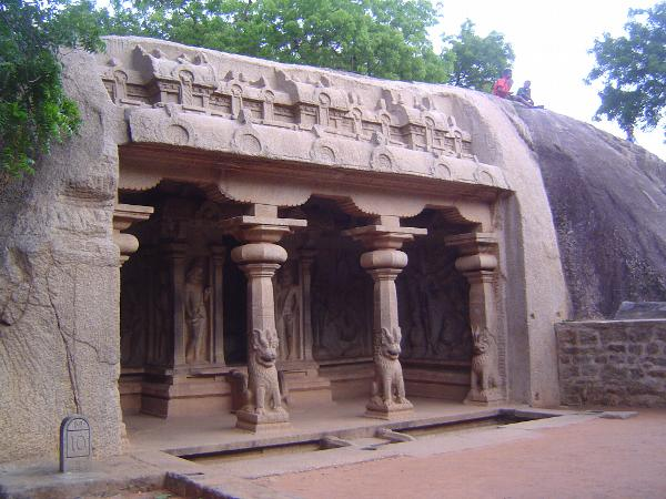 Peninsular India: Mamallapuram 1: Cave Temples and Carvings picture 10