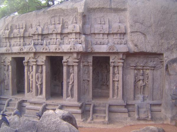 Peninsular India: Mamallapuram 1: Cave Temples and Carvings picture 15