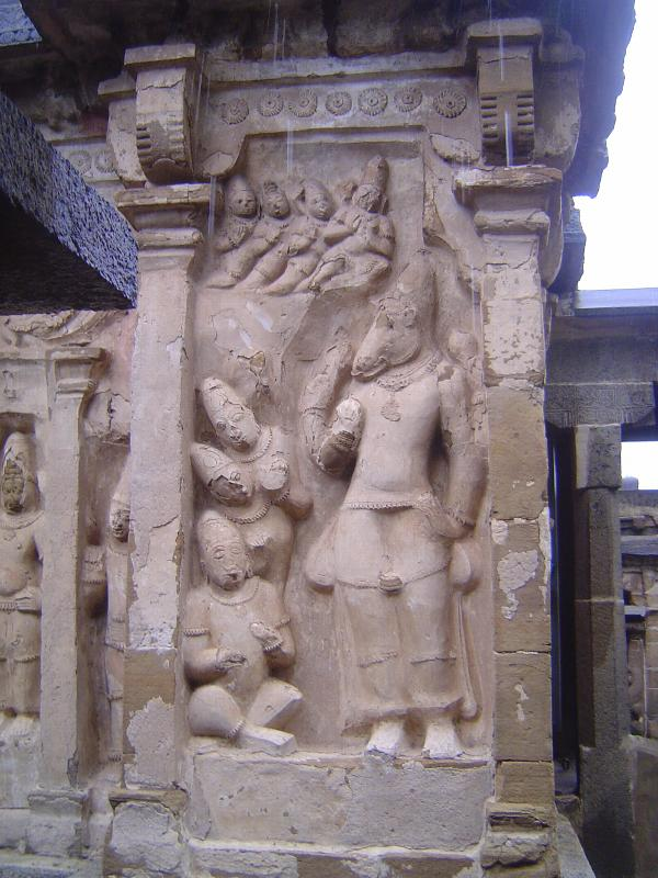Peninsular India: Kanchipuram: Vaikuntha Perumal Temple picture 14