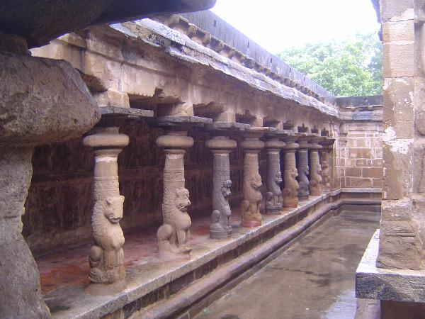 Peninsular India: Kanchipuram: Vaikuntha Perumal Temple picture 20