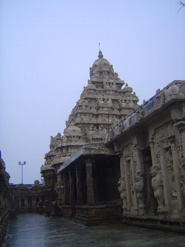 Peninsular India: Kanchipuram: Kailasanatha Temple picture 8