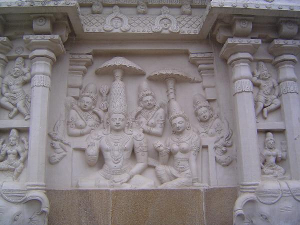 Peninsular India: Kanchipuram: Kailasanatha Temple picture 7