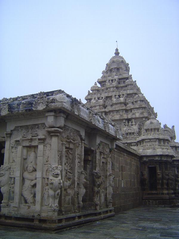 Peninsular India: Kanchipuram: Kailasanatha Temple picture 6