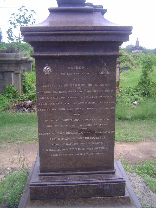 Peninsular India: Chennai/Madras 4: The Old English Burial Ground picture 7