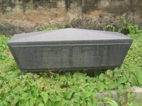 Peninsular India: Chennai/Madras 4: The Old English Burial Ground picture 8