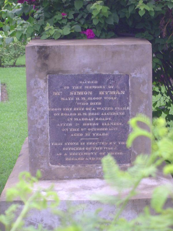 Peninsular India: Chennai/Madras 4: The Old English Burial Ground picture 14