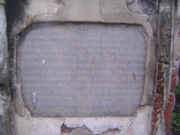 Peninsular India: Chennai/Madras 4: The Old English Burial Ground picture 9